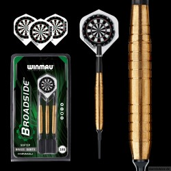 BROADSIDE Brass 2225 Brass Softdarts 18g