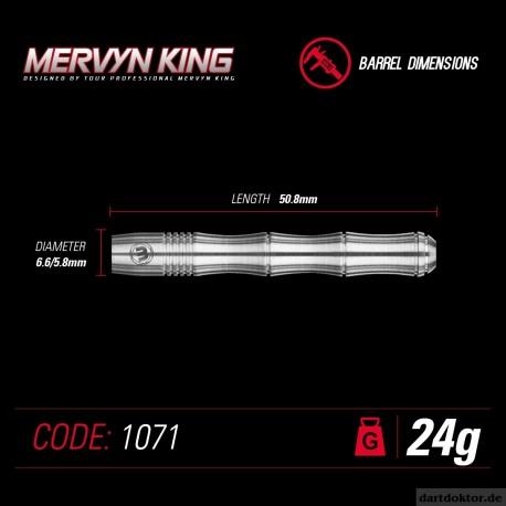 MERVYN KING (The King) Steeldarts Silver