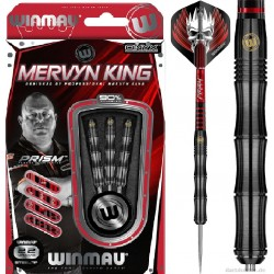 MERVYN KING (The King) Steeldarts Silver