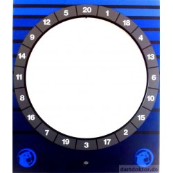 Fronttür - HB8 Target Tür blau