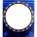 Fronttür - HB8 Cougar Target Tür blau