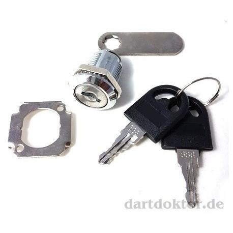 Schloss - Münzeinwurf Dart Tür