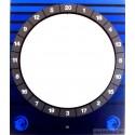 Folie HB8 Cougar - Front Target Tür blau