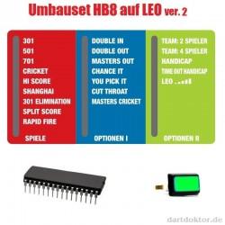 Umbauset HB8 auf LEO ver.2
