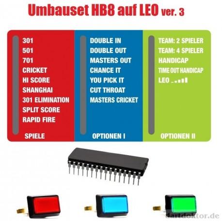 Umbauset HB8 auf LEO ver.3