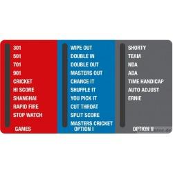Folie HB8 -Spielwahlpanel USA Version