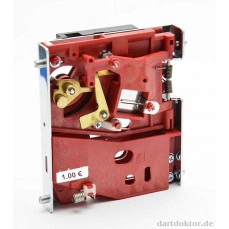 Münzprüfer 1 Euro - mechanisch