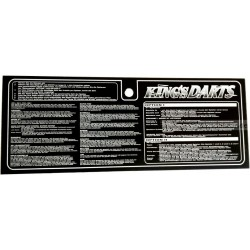Plexi Spielanleitung deutsch - Kings Dart