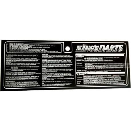 Plexi Spielanleitung deutsch - Kings Dart