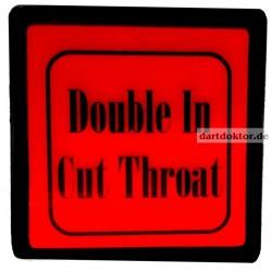 Taster Double In Cut Throat - Cyberdine Dart