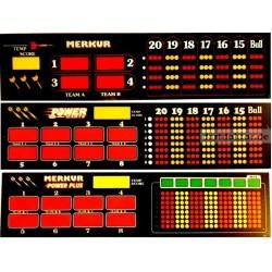 Display Anzeigeabdeckung - Merkur Power Plus