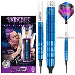 PETER WRIGHT PL15 Blue Softdarts 18g Red Dragon