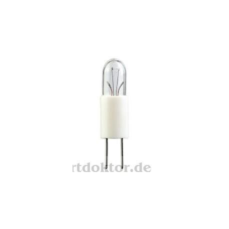 Plastiksockel-Lampe Cricket SM92/94 14V 80mA