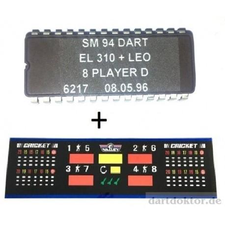 Umbausatz SM92 von 4 auf 8 Spieler