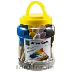 Arrows Darts 100 St. + Spitzen + Flights