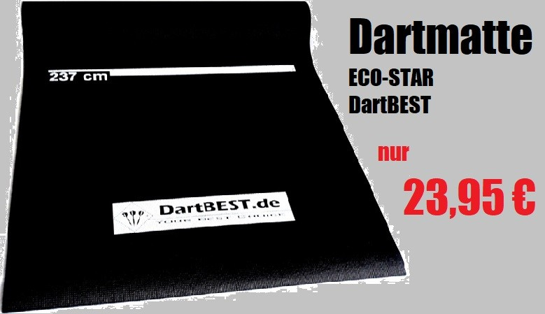Dartmatte ECO-STAR von DartBEST.de